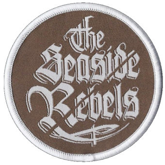 "Seaside Rebels, The ""Logo"" Aufnäher (gestickt) / patch"
