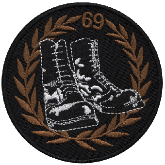 Boots 69 - patch (embroided)
