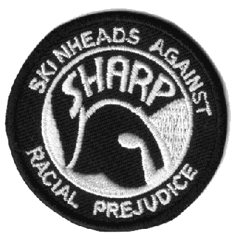 SHARP - Aufnäher / patch (stick)