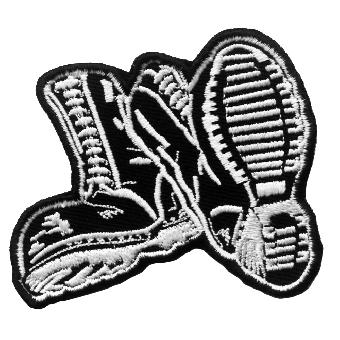 Boots - Aufnäher/ patch (gestickt)