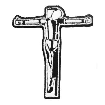 Crucified Skinhead - Aufnäher/ patch (gestickt)