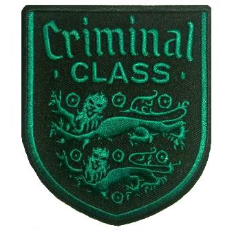 """Criminal Class """"Lions Crest"""" Aufnäher/ patch (gestickt)"""