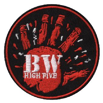 "Berliner Weisse ""High Five"" Aufnäher (gestickt) / patch"