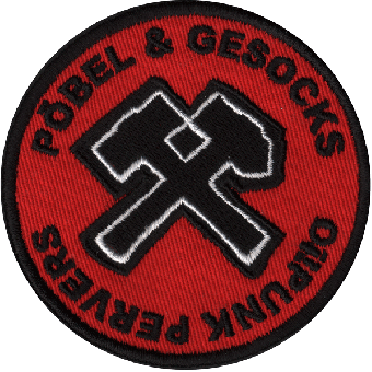 "Pöbel & Gesocks ""Oi! Punk Pervers"" patch"