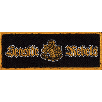 "Seaside Rebels ""Sextant"" Aufnäher / patch (gestickt)"
