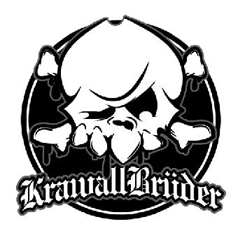 """Krawallbrüder """"Skull"""" - Aufnäher (gestickt)"""