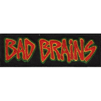 "Bad Brains ""Logo"" patch (embroided)"