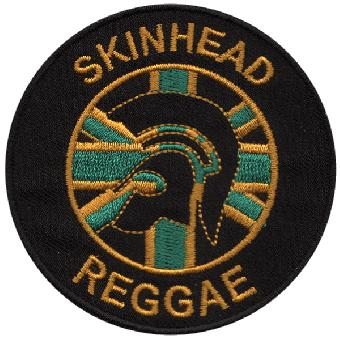 "Skinhead Reggae ""Jamaika Union Jack"" patch (embroided)"