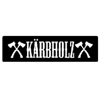 Kärbholz - Aufnäher/patch (gestickt)