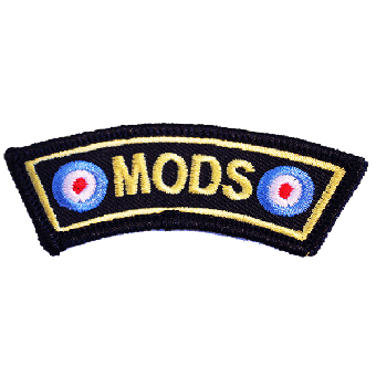 "Mods ""Targets"" patch (embroided)"