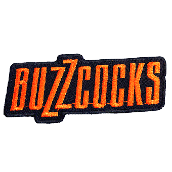 "Buzzcocks ""Logo"" patch (embroided)"