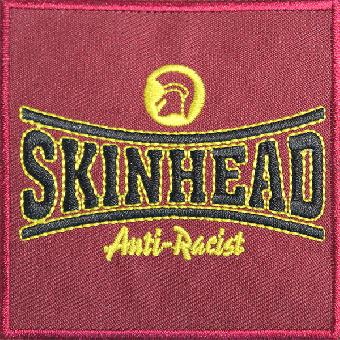 "Skinhead ""Anti-Racist"" Aufnäher / patch (gestickt)"