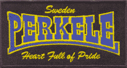 Perkele (Heart full of pride) Aufnäher/ patch (gestickt)