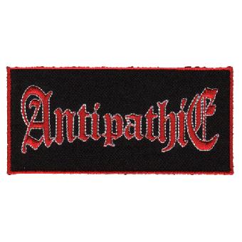 "Antipathie ""Schriftzug"" Aufnäher / patch (gestickt)"