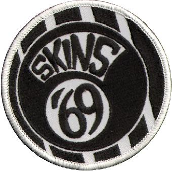 Skins 69 Aufnäher / patch (gestickt)