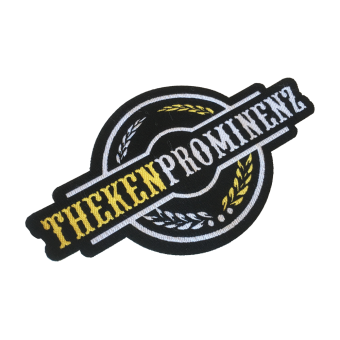 "Thekenprominenz ""Logo"" patch (embroided)"