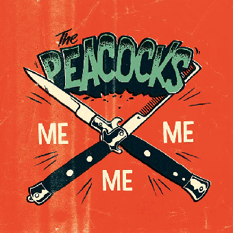 "Peacocks, The ""Me Me Me"" EP 7"" (lim. 500, black) + MP3"