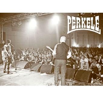 "Perkele ""live"" Poster (gerollt)"