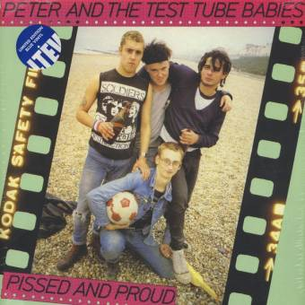 "Peter And The Test Tube Babies ""Pissed and proud"" DoLP (lim. 500, blue)"