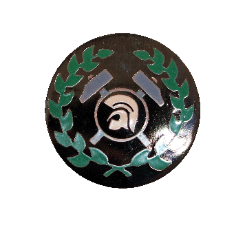 Working Class Trojan Perry Hartemaille Pin