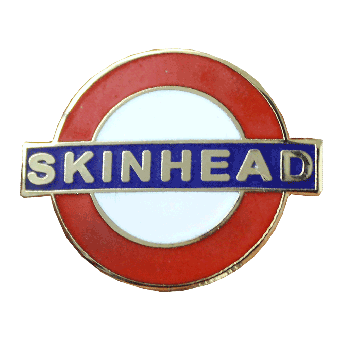 Skinhead Hartemaille Pin