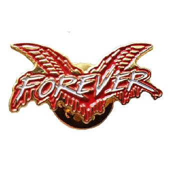 "Cock Sparrer ""Forever"" Hartemaille Pin"