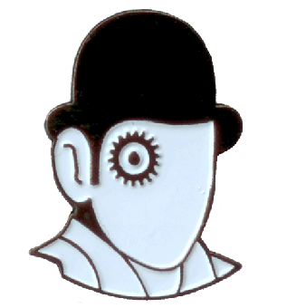 Clockwork Orange (Alex) - Hartemaille Pin (73) NEU