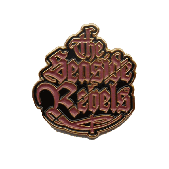 "Seaside Rebels ""Logo"" Hartemaille-Pin (94-1)"
