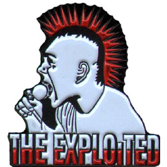 """Exploited """"Wattie"""" Hartemaille Pin (032)"""