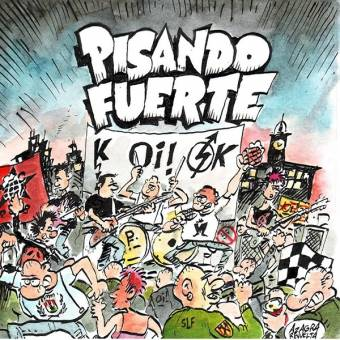 "Pisando Fuerte ""Songs 81/88"" LP (lim. 200, black/bordeaux)"