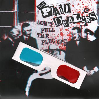"Plain Dealers ""Don`t pull the plug"" EP 7"" (3D Cover + glasses, lim. green)"