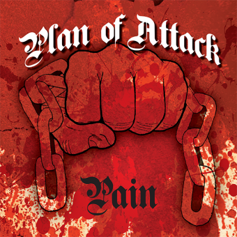 "Plan of attack ""Pain"" EP 7"" (lim 100, splatter)"