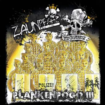 "Piratenpapst feat. Zaunpfahl ""Plankenpogo III"" EP 7"" (lim. 300 + download)"
