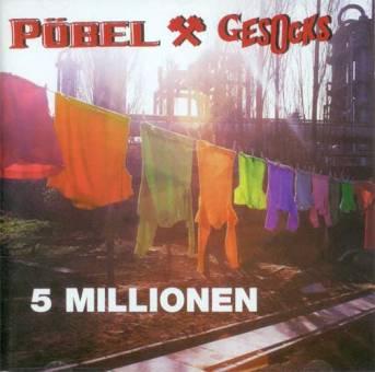 """Pöbel & Gesocks """"5 Millionen"""" CD"""