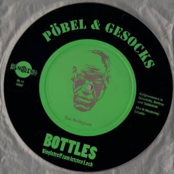 """Pöbel & Gesocks vs. Bottles """"Das Kollegium"""" EP 7"""" (lim. 250)"""