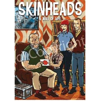 Old Skinhead - Poster (A2) (gefaltet)