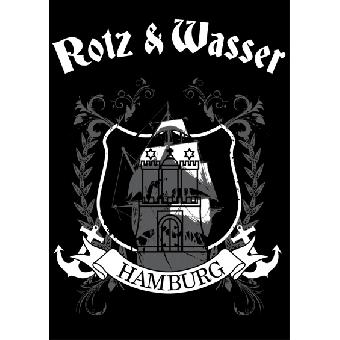 """Rotz & Wasser """"Hamburg"""" - Poster (gefaltet)"""