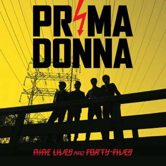 "Prima Donna ""Nine lives and forty-fives"" LP"