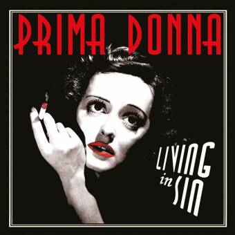 "Prima Donna ""Living in sin"" 7"" EP (lim. 100, black)"