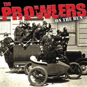 "Prowlers ""On the run"" 10"" (lim. 200, white/black)"