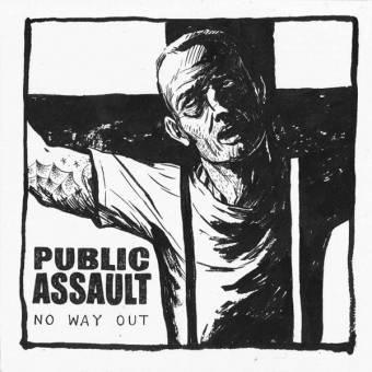 """Public Assault """"No way out"""" EP 7"""" (lim. 250, coke bottle)"""