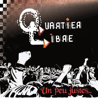 """Quartier Libre """"Un peu justes..."""" LP+CD (lim. orange)"""