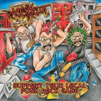 "Race Riot 59 ""Punk Rock Gang"" LP (lim.100, black)"
