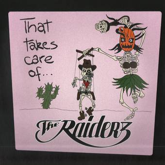 "Raiderz ""That takes care of..."" LP (lim. 500, random color)"