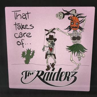 "Raiderz ""That takes care of..."" LP (lim. 500, random color)"