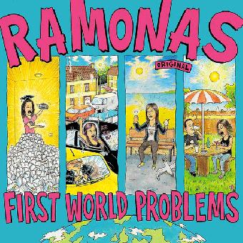 "Ramonas ""First World Problems"" CD (lim. DigiPac)"