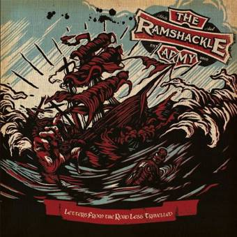 "Ramshackle Army ""Letters From The Road Less Travelled"" CD"