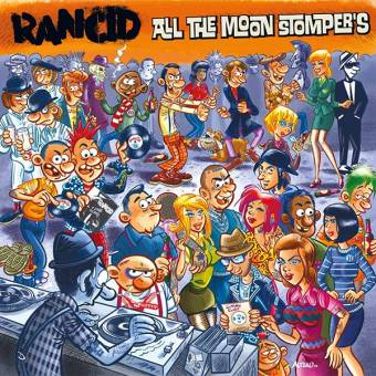"Rancid ""All the Moonstompers"" CD"