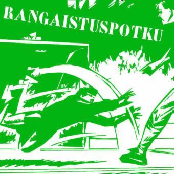 "Rangaistuspotku ""same"" EP 7"" (lim. 190, black)"