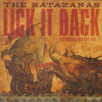 "Ratazanas, The ""Lick it back"" CD"